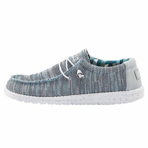 HEY DUDE ULTRA HAFİF VE RAHAT ERKEK AYAKKABI - WALLY SOX ICE GREY